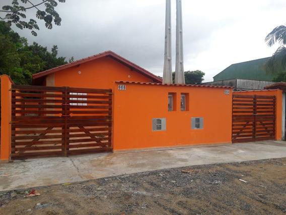 Casa Nova Na Praia De Itanhaém R$ 124.900