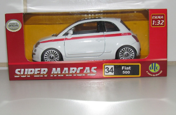 Super Marcas Dtc - Fiat 500 - Escala 1/32
