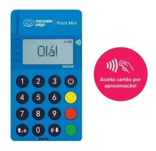 Imagem 1 de 5 de Máquina De Cartão Point Mini Do Mercado Pago Envio Imediato