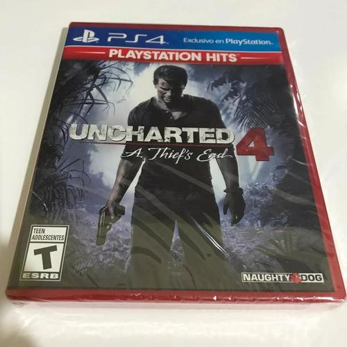 Uncharted 4 A Thiefs End Ps4 Playstation 4 Nuevo Y Sellado