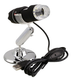 Microscópio Digital Usb 1000x Zoom Bancada Profissional