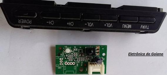 Sensor + Teclado De Funções Buster Hbtv-42l07fd