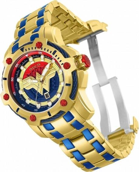 Relógio Invicta Dc 26839 Black Friday Mulher Maravilha Orig.