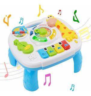 Juguete Mesa Actividades Infantil Musical Educativa Piano