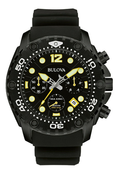 Relógio Masculino Bulova 98b243 Borracha