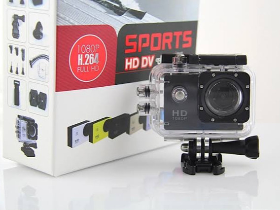 Mini Câmera Filmadora Sports Hd Dv 1080p H264 Full Hd Hdmi