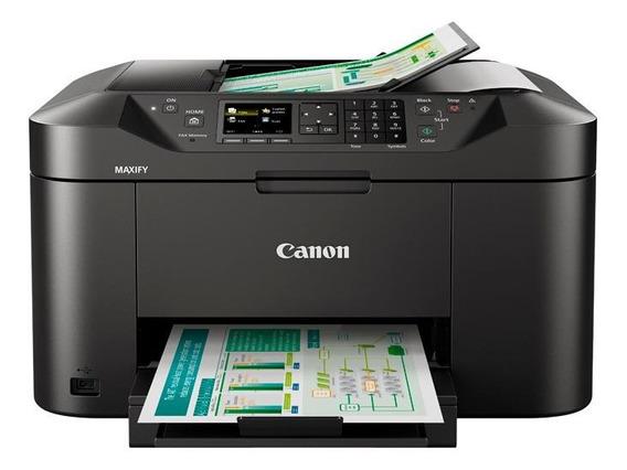 Impressora a cor multifuncional Canon Maxify MB2110 com Wi-Fi 110V/220V preta