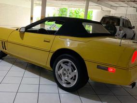 Corvette Conversível 1986, Gm, Ñ: Mustang, Camaro; Porsche