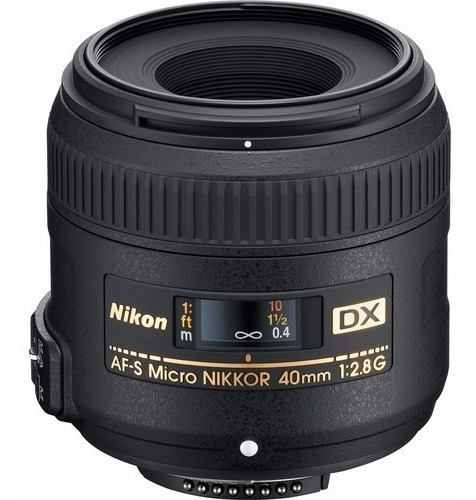 Lente Nikon 40mm F/2.8g Af-s Micro-nikkor Macro 12x S/juros