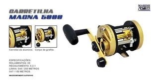Carretilha Perfil Alto Marine Sports Magna 5000 - Direita