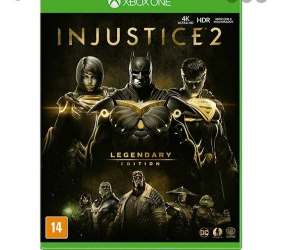 Injustice 2 Midia Digital Edição Lendária