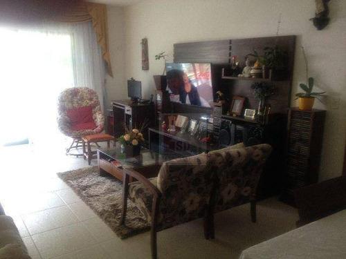 Apartamento Com 3 Dormitórios À Venda, 135 M² Por R$ 680.000,00 - Taumaturgo - Teresópolis/rj - Ap0265