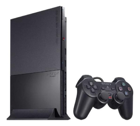 Sony PlayStation 2 Slim Standard charcoal black