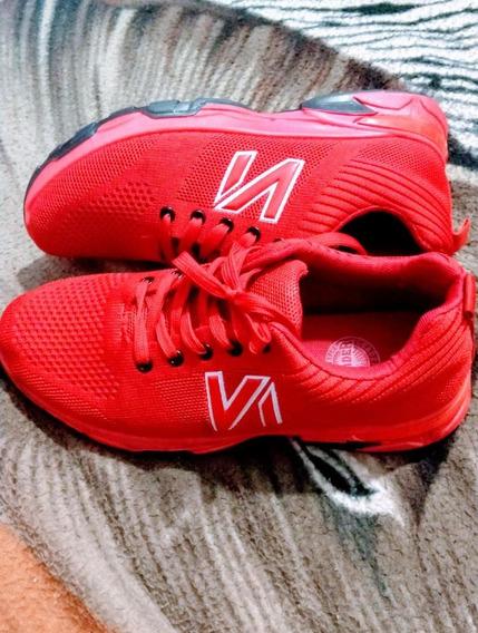 Zapato Deportivo New Balance Rojo Talla 38