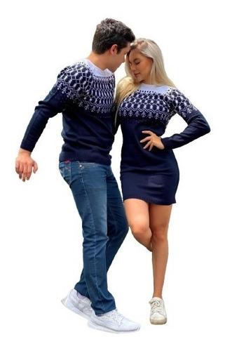 Imagen 1 de 3 de Ugly Sweater Navideño Pareja Duo