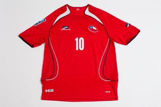 Camisa Seleção Chilena Oficial Usada Eliminatorias Copa 2010