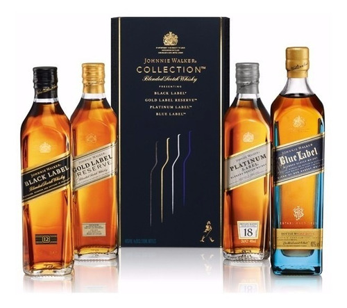 Whisky Johnnie Walker Collection Multi Pack Incl. Blue Label