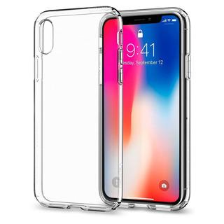 Funda iPhone XS / X Spigen Liquid Crystal 100% Original