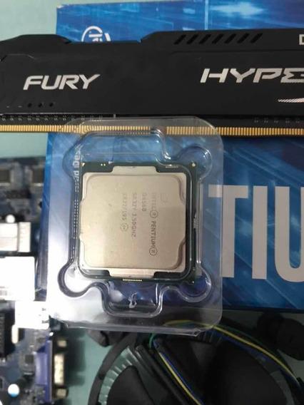 Kit Placa Mãe Ddr4 Lga 1151 Processador G4560 8gb Ram Ddr4