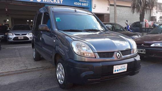 Renault Kangoo 1.6 Nafta 5 Acientos 2013 Km 150 Mil Gris