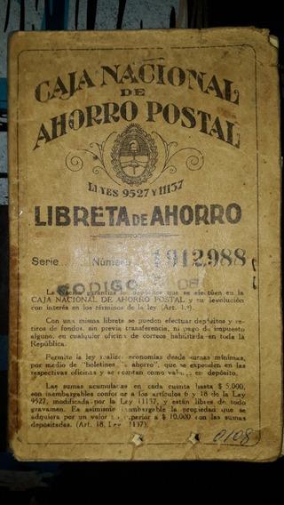 Estampilla Caja Nacional De Ahorro Postal   MercadoLibre.com.ar