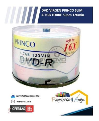 Dvd Virgen Princo Original 4.7 Gb 120 Min. 16x