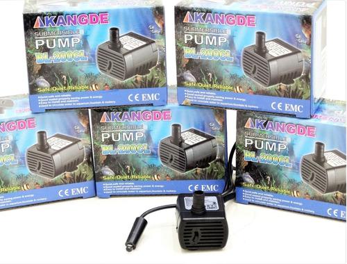 Bomba Motor 2 W Una Luz Fuentes De Agua  Feng Shui Con Led