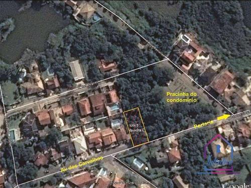 Terreno À Venda, 450 M² Por R$ 260.000,00 - Terras Do Madeira - Carapicuíba/sp - Te0066