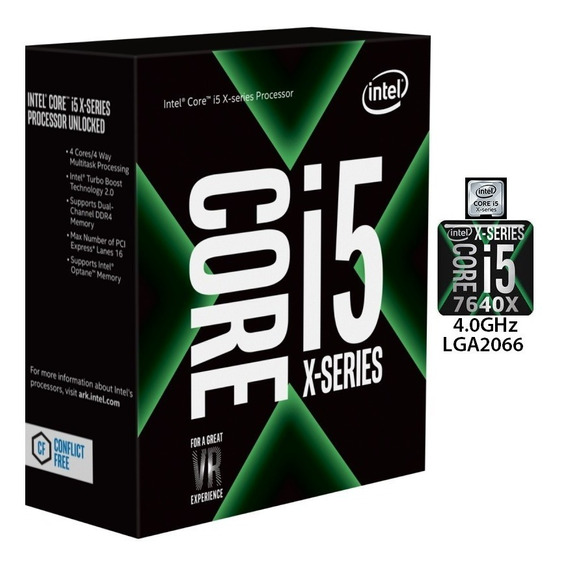 Processador Intel I5-7640x. Lga2066 / 4.0 Ghz / Quad-core!