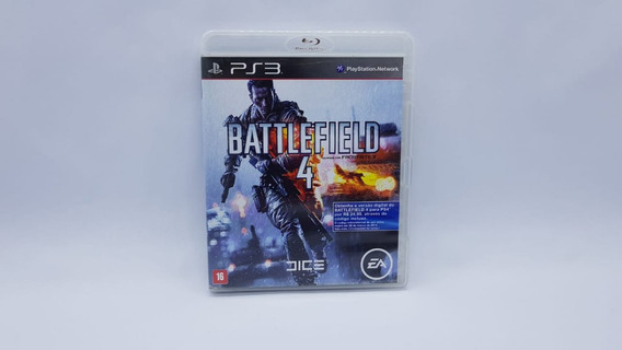 Battlefield 4 - Ps3 - Midia Fisica Em Cd Original