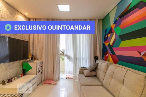 Apartamento No 2º Andar Com 2 Dormitórios E 1 Garagem - Id: 892989749 - 289749