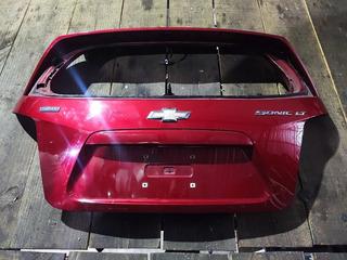 Tampa Traseira Do Chevrolet Sonic 2013 Original Promoção !!!