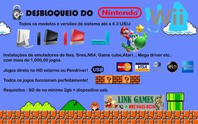 Desbloqueio Do Nintendo Wii + Emuladores