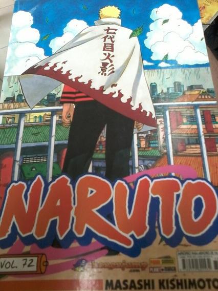 Mangá Naruto N. 72 Usado