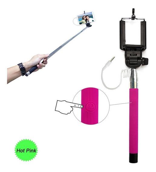 Monopod Selfie Fotografia Rosado Fuerte(hot Pink)iPhone & An