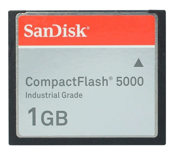 Compact Flash 5000 1gb Sandisk Industrial Grade Original