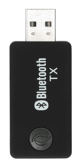 Adaptador Auditivo Sem Fio Bluetooth Transmissor Para Tv