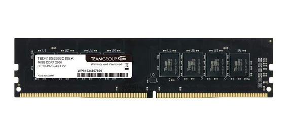 Memoria Ram 8gb Ddr4 2666mhz Teamgroup (xam)