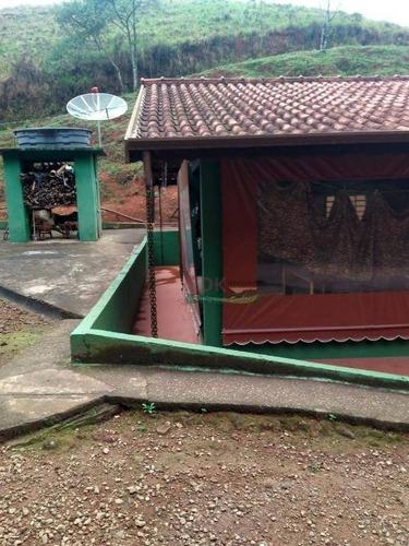 Imagem 1 de 3 de Sitio 3,15 Alqueires - Monteiro Lobato - R$ 600.000,00 - Ch0267