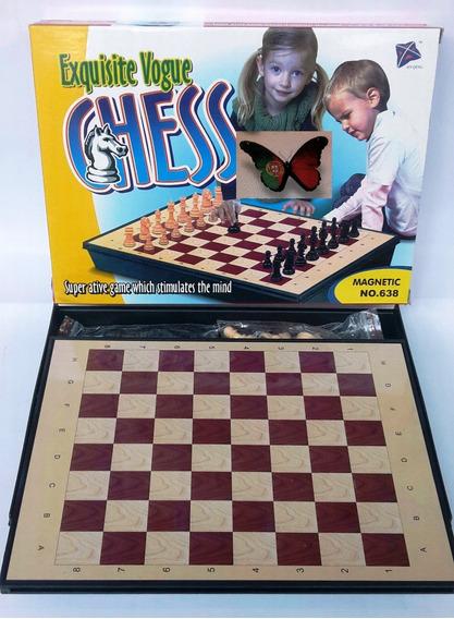 Juego De Ajedrez Mag. Exquisite Voge Chess 30 X 21 Cm