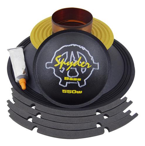 Imagem 1 de 4 de Kit Reparo Spyder Kaos 550 Wrms 12 Polegadas 8 Ohms Original