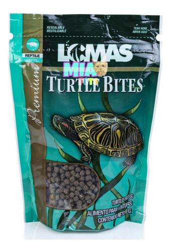 Imagen 1 de 6 de Alimento De Tortugas Y Reptiles En Bolitas Turtle Bites 90g