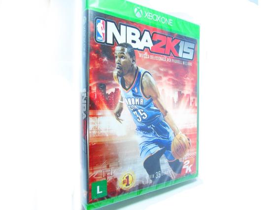 Nba 2k15 / 2015 - Xbox One - Mídia Física, Lacrado