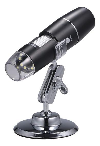 Kkmoon Microscópio Eletrônico Digital Wi-fi Portátil Sem Fio