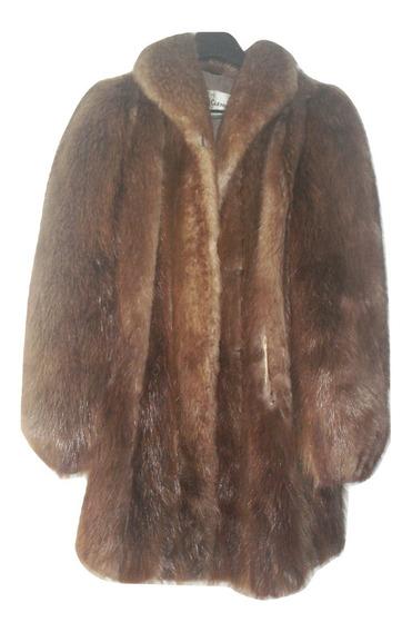 Usad Abrigo Mink Americano Fashion Talla G $45,990a
