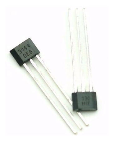 10x Sensor De Efeito Hall - A3144 - A3144e -mercado Envios