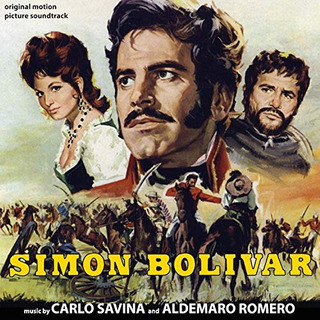 Cd : Savina,carlo & Aldemaro Romero - Simon Bolivar / O.s.t.