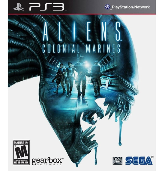 Aliens Colonial Marines Ps3 Novo Lacrado