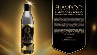 Ouro Shampoo Matizador Plata 250ml