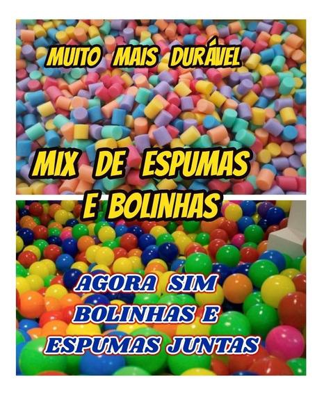 Mix De Bolinhas E Espumas P/ Piscina Tombo Legal Kit C/150..